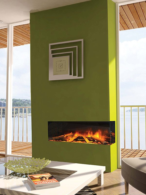 Evonic e-series, electric fires, Sudbury, Suffolk